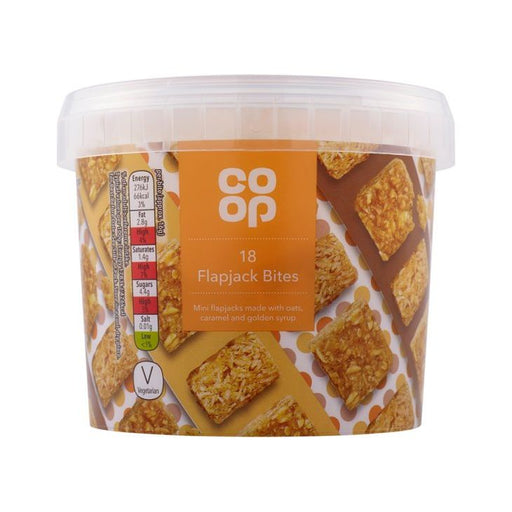 Co-op Flapjack Bites Tub