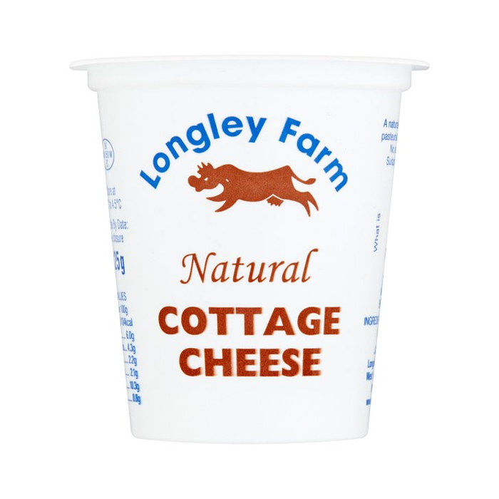 Longley Farm Cottage Cheese 125g