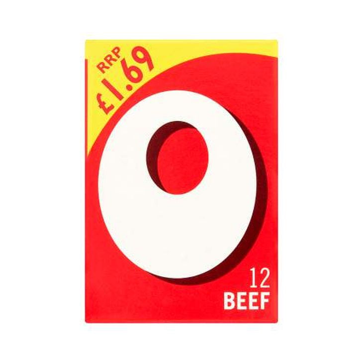 Beef OXO Cubes 12-Pack