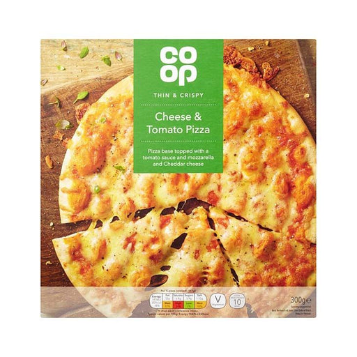 Co-op Cheese & Tomato Pizza 300g