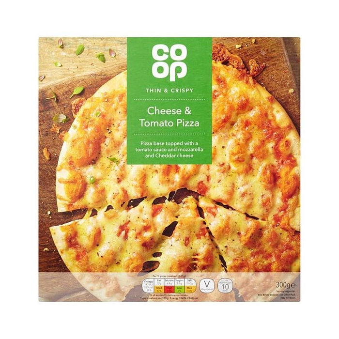 Co-op Cheese & Tomato Pizza 300g / 5000128600972