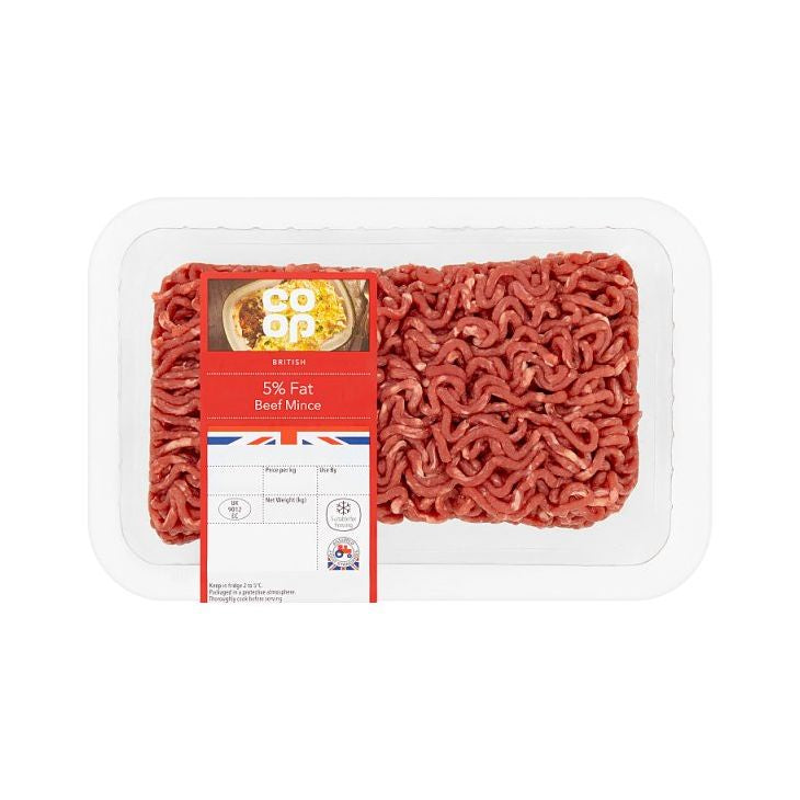 Co-op Beef Steak Mince 5% Fat 500g