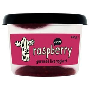 The Collective Raspberry Gourmet Live Yoghurt 450g