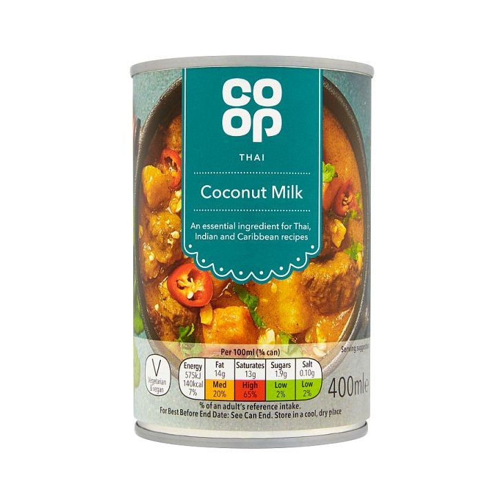 Co-op Coconut Milk 400ml