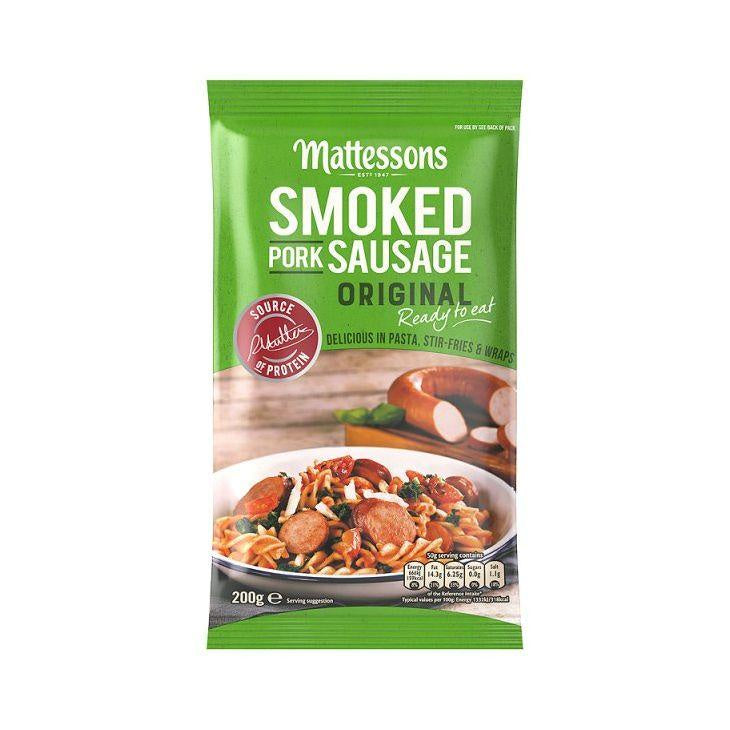 Mattessons Smoked Pork Sausage 160g