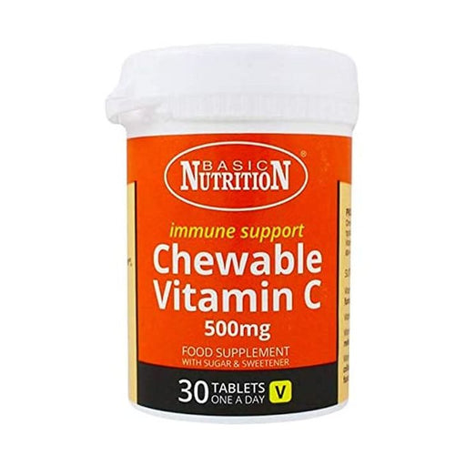 Basic Nutrition Vitamin C Chewable 500mg 30s