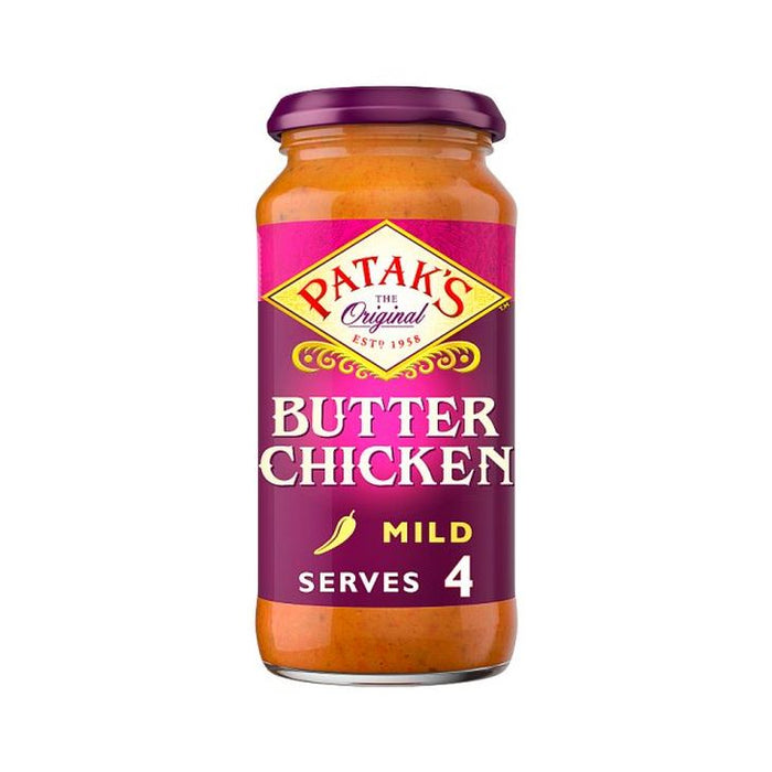 Pataks Butter Chicken Cooking Sauce 450g