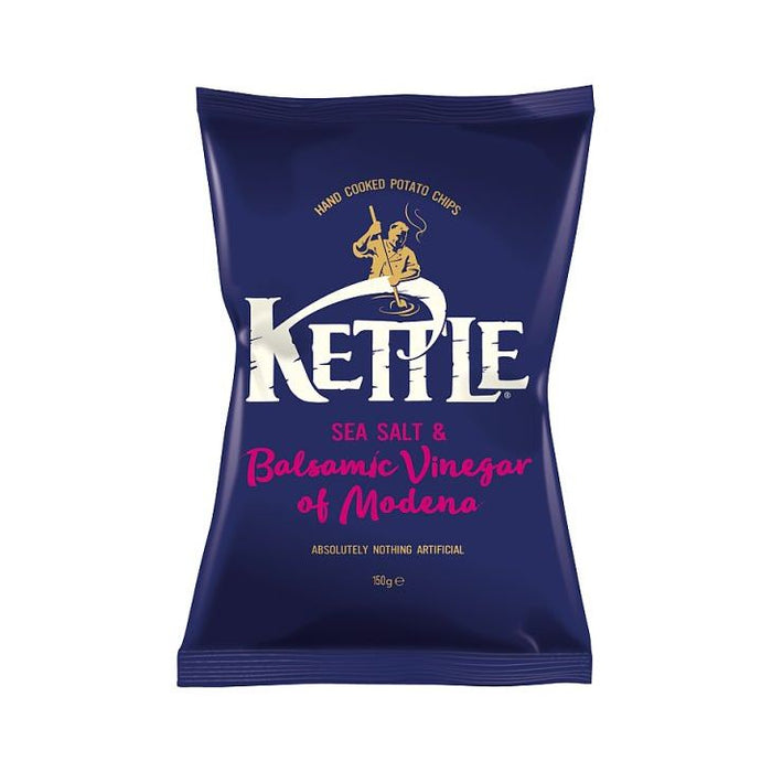 Kettle Chips Seasalt & Vinegar Crisps 150g