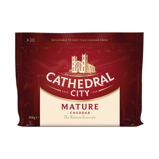 Cathedral City White Mature Cheddar 350g