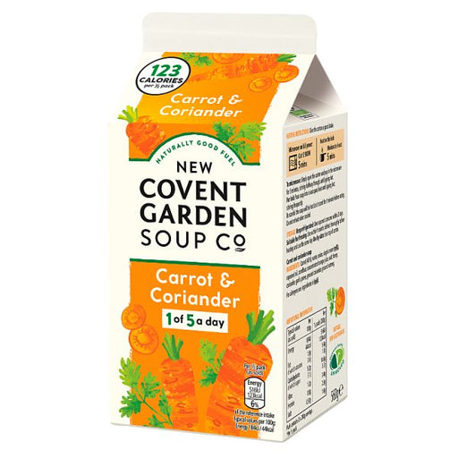 Covent Carrot and Coriander Soup 560g