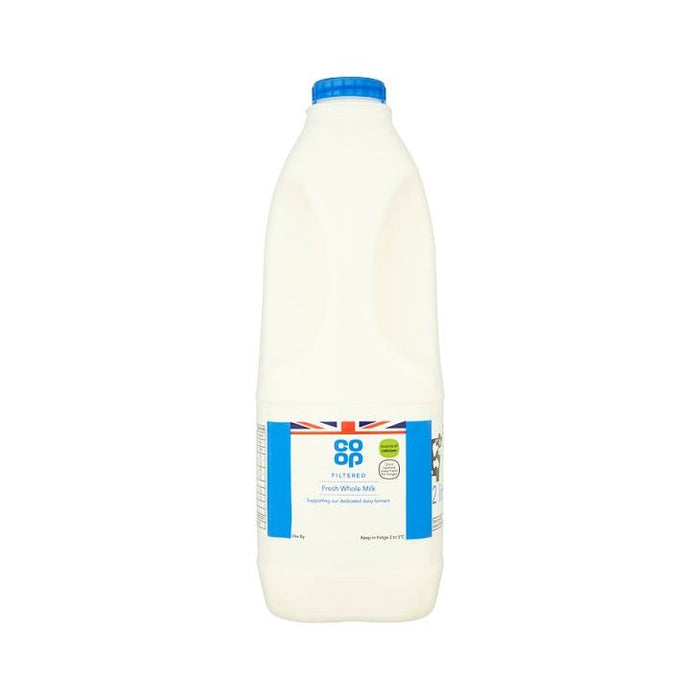 Co-op Filtered Fresh Whole Milk 2L