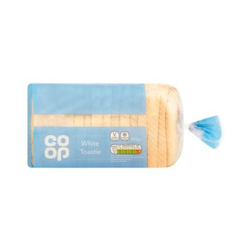 Co-op WHITE TOASTIE 800G