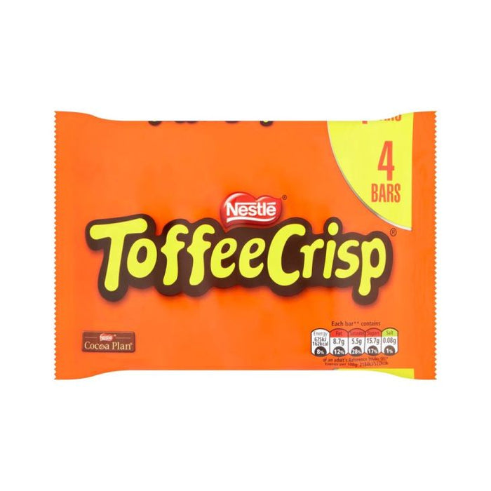 Nestle Toffee Crisp 4-Pack