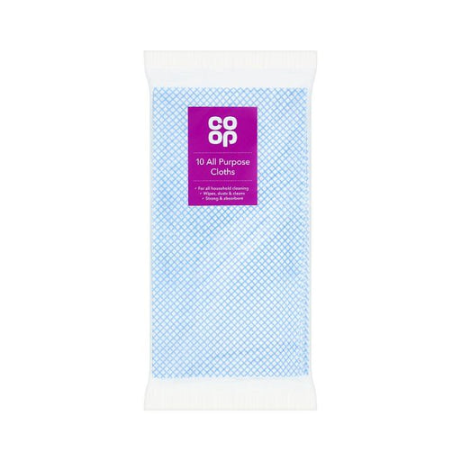Co op All Purpose Cloths Disposable 10-Pack