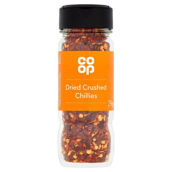 Co Op Dried Crushed Chillies