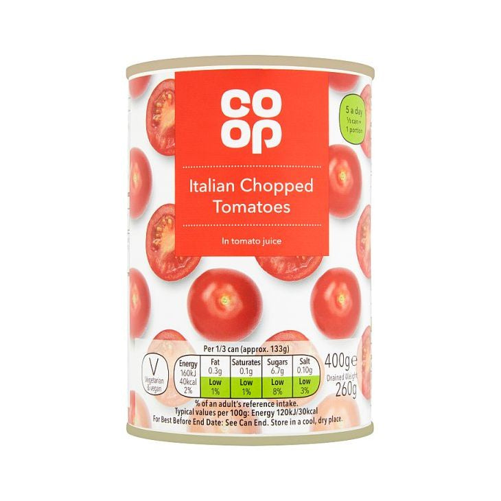 Co-op Chopped Tomatoes 400g