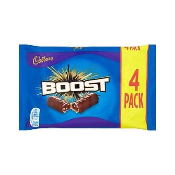 Cadbury Boost Chocolate Bar 160g x 4 / 7622210704504 / 7622210989154