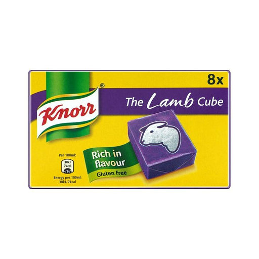 Knorr Lamb Stock Cubes 8-Pack