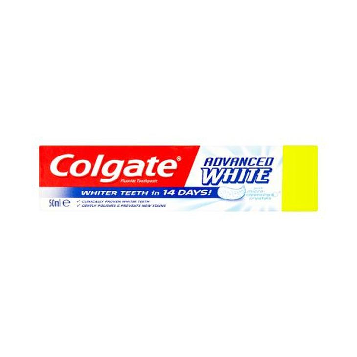 Colgate Toothpaste Advanced Whitening 50ml