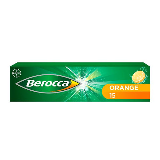 Berocca Multivitamin Effervescent Tablets 15 Pack