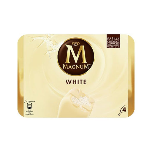 Walls Magnum White 316g 4-Pack