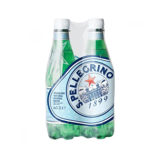 San Pellegrino Sparkling Water 500ml 4-Pack