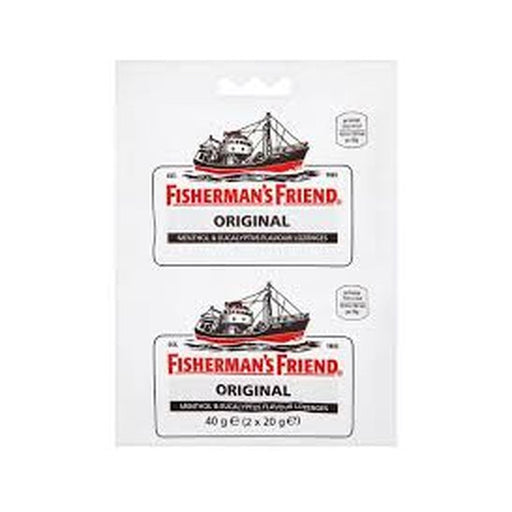 A - REDUCED TO CLEAR - Fisherman's Friend Extra Strong Lozenges, Twin-pack, 2 x 20g