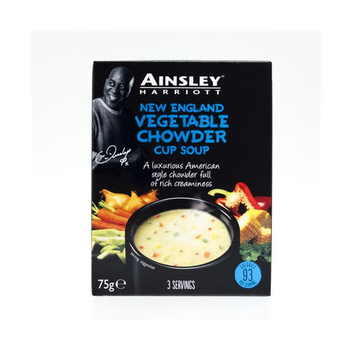 Ainsley Harriott Vegetable Chowder Cup Soup 75g