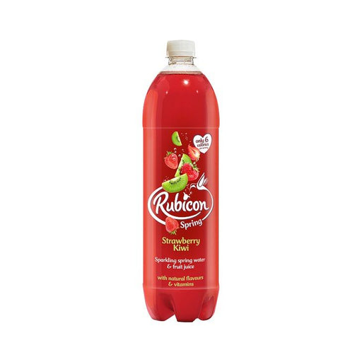 Rubicon Spring Sparkling Strawberry & Kiwi Water 1.5Ltr