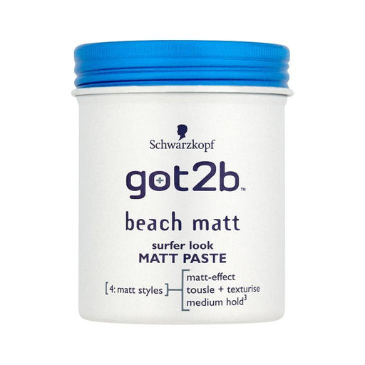 Schwarzkopf Got2b Beach Matt Paste 100ml