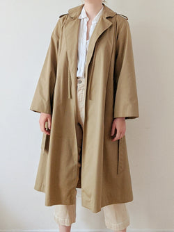 Vintage Beige Trench Coat