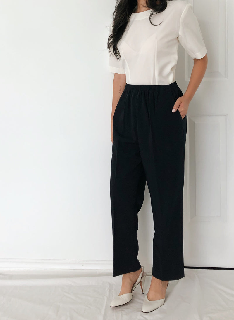 Vintage Navy Trousers