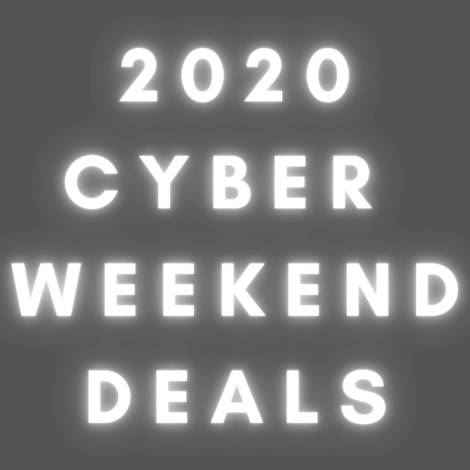 Cyber Weekend Deals!