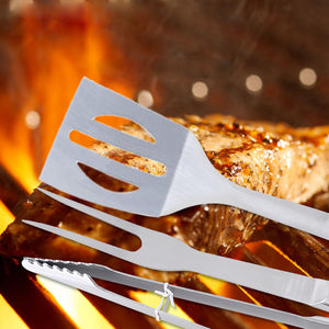 BBQ Grill Tools Steel with bag for outdoor camping