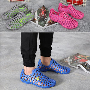 Beach Sandals Couples Hollow Men Womens Garden Hole Shoes