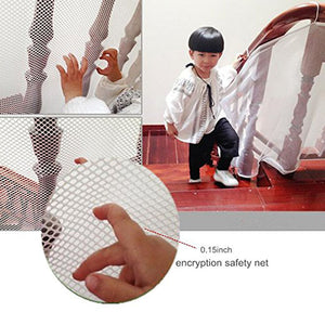 INDOOR Balcony and Stairway Safety Net – Child Safety; Pet Safety; Toy Safety; Stairs Protector