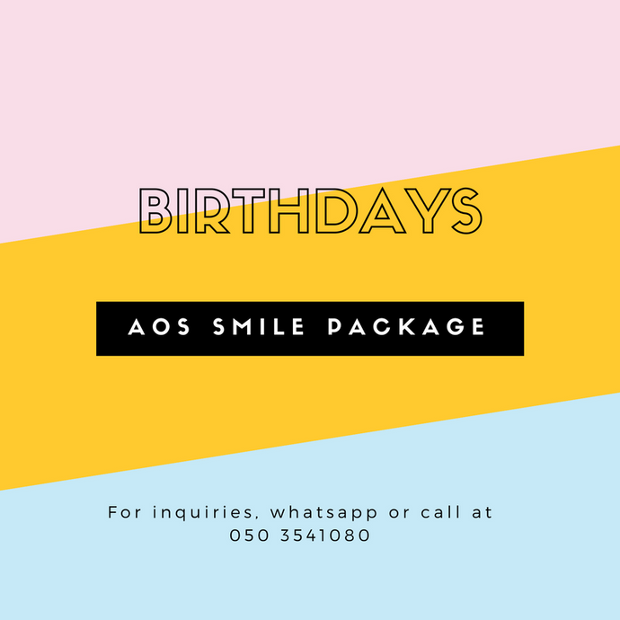AOS Smile Birthday Package