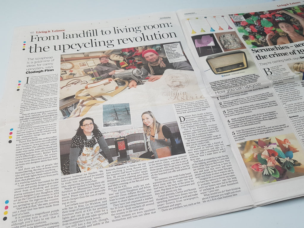 Irish Independent From Landfill to Livingroom: The Upcycling Revolution
