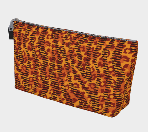 Animal Stripes and Spots Makeup Bag