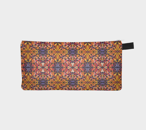 Amber Kaleidoscope Pencil Case