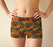 Abstract Animal Stripes BoyShorts