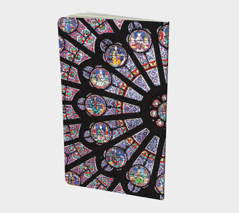 Rose South Window, Notre Dame Paris Small Notebook