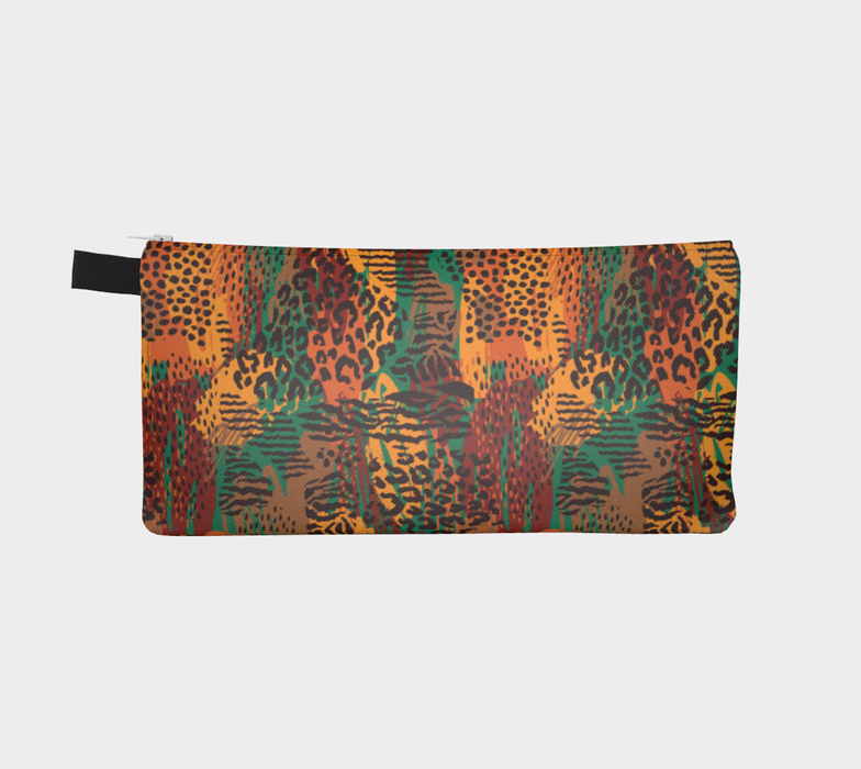 Safari Animal Print Mashup Pencil Case