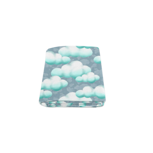 "Sleepy Clouds Naptime Fleece Blanket 40""x 50"""
