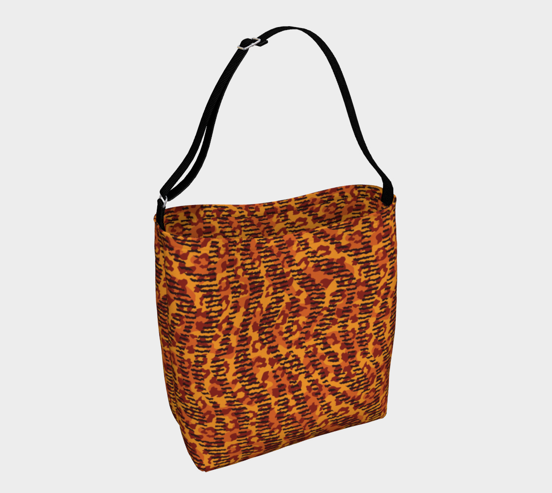 Animal Stripes and Spots Day Tote