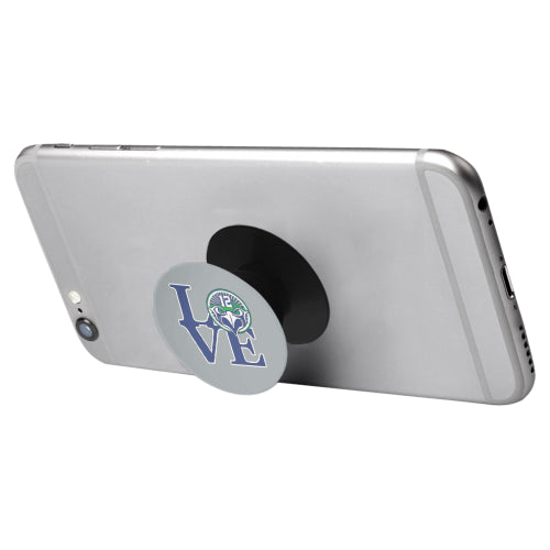 Seattle Seahawks Fan - 12 LOVE - Black Multi-function Cell Phone Stand (Set of 2)