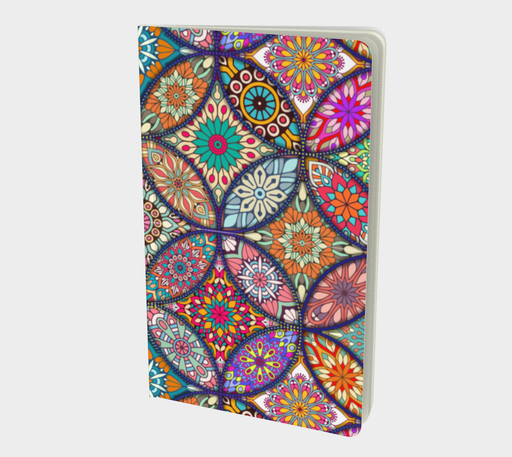 Vibrant Mandalas Small Notebook