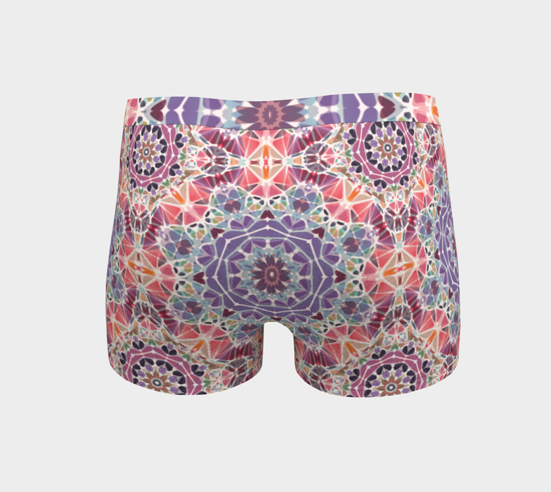 Purple and Pink Kaleidoscope Boyshorts
