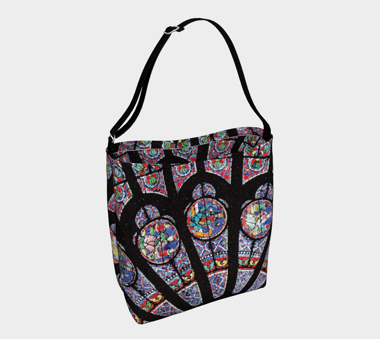 Rose South Window, Notre Dame Paris Day Tote