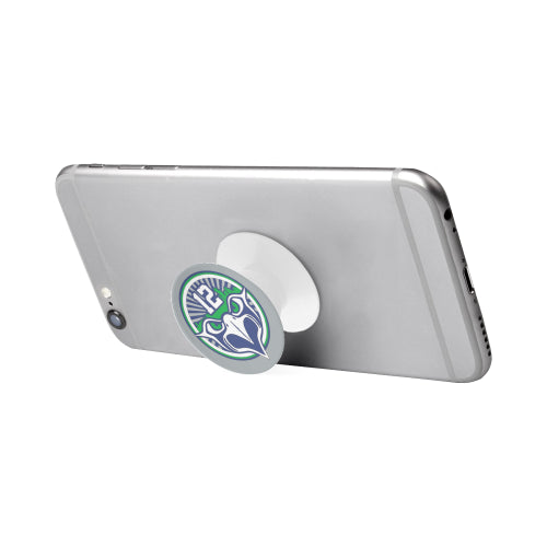 Seattle Seahawks Fan - 12 Screaming Eagle - White Multi-function Cell Phone Stand